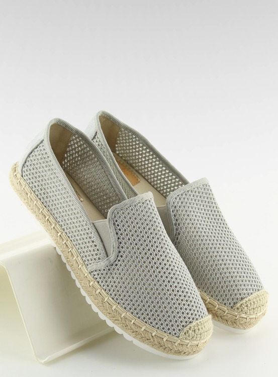 Slip-on espadryle szare BB03P GREY
