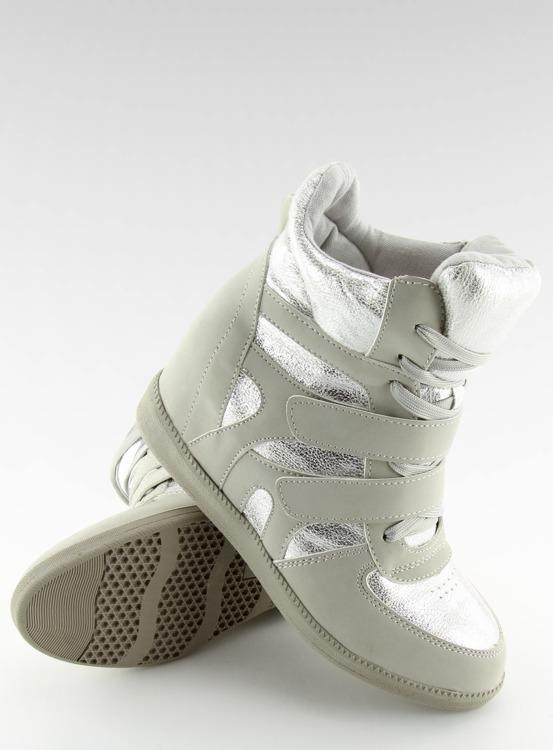 Sneakersy damskie szare 925-Y GREY