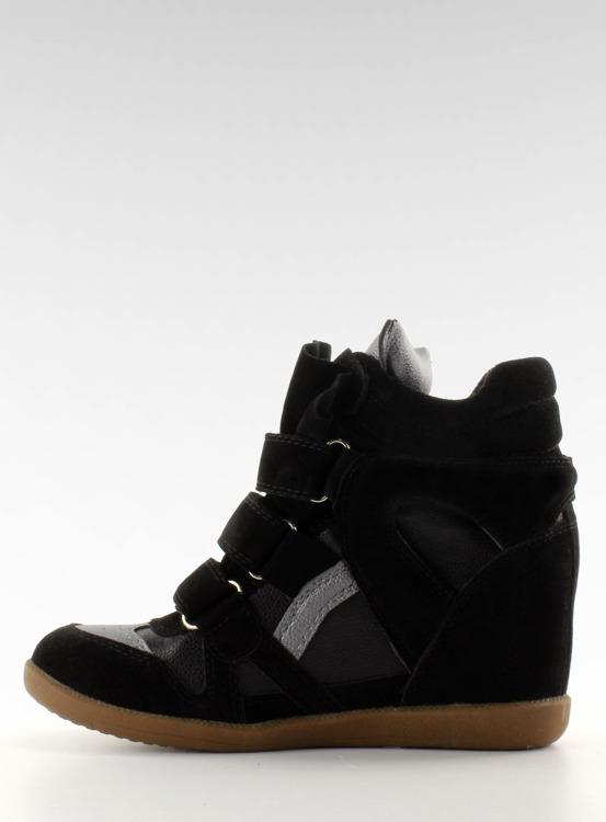 Sneakersy zamszowe 6040 Black