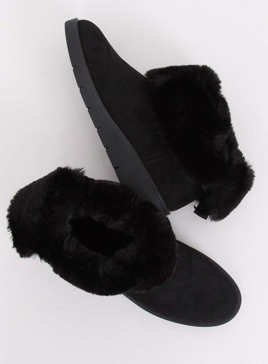 Śniegowce damskie czarne A-3 BLACK