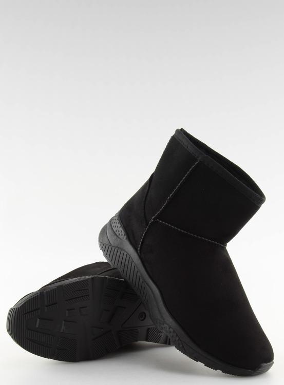 Śniegowce damskie czarne D009 BLACK