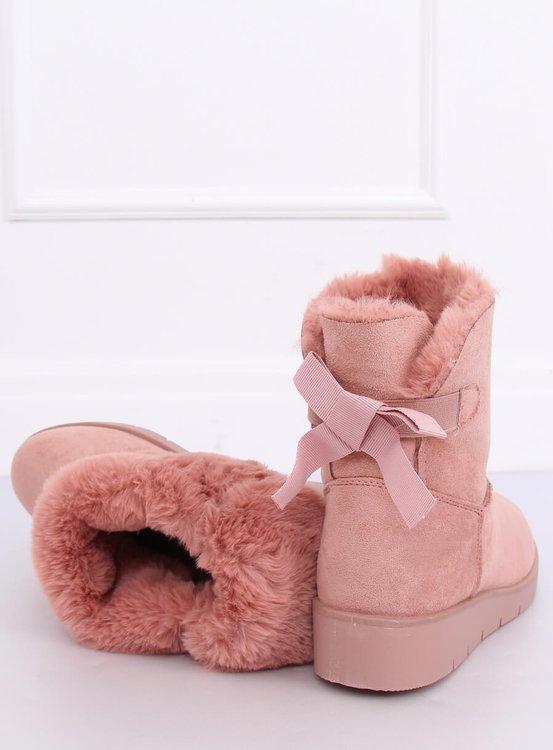 Śniegowce damskie różowe A-3 PINK