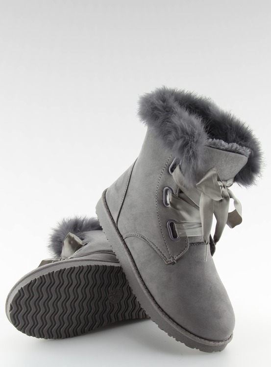 Śniegowce damskie szare 2051 GREY