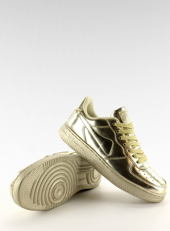 Sportowe buty crazy colours B731 Gold