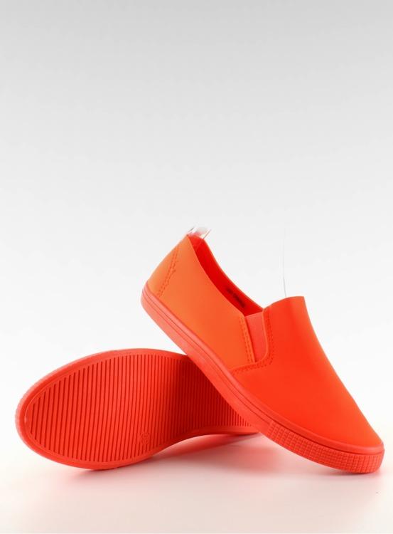 Stylowe trampki slip-on JX31 Orange