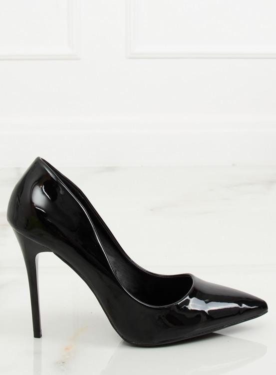 Szpilki damskie czarne LE03P BLACK