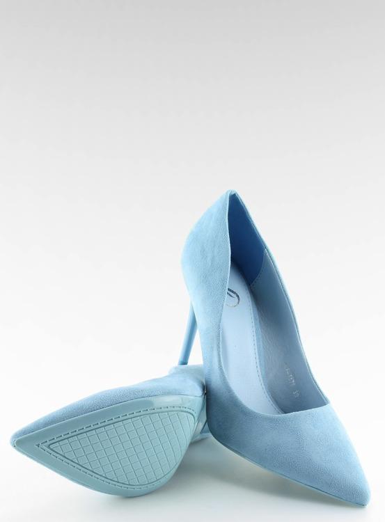 Szpilki damskie niebieskie GF-JX78 L.BLUE