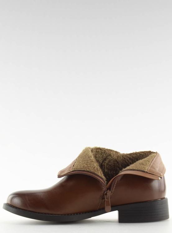 Sztyblety damskie brązowe 7352-PA CAMEL