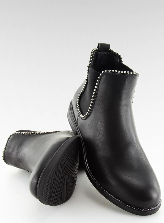 Sztyblety damskie czarne 1003-PA BLACK