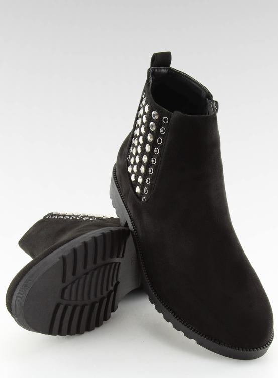 Sztyblety damskie czarne 108-107 BLACK