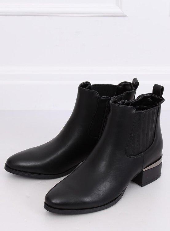 Sztyblety damskie czarne 3303 BLACK