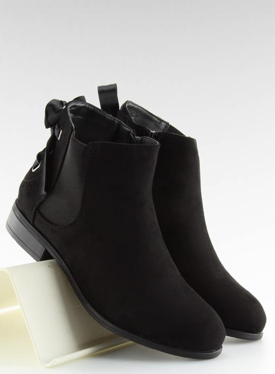 Sztyblety damskie czarne 3740 BLACK