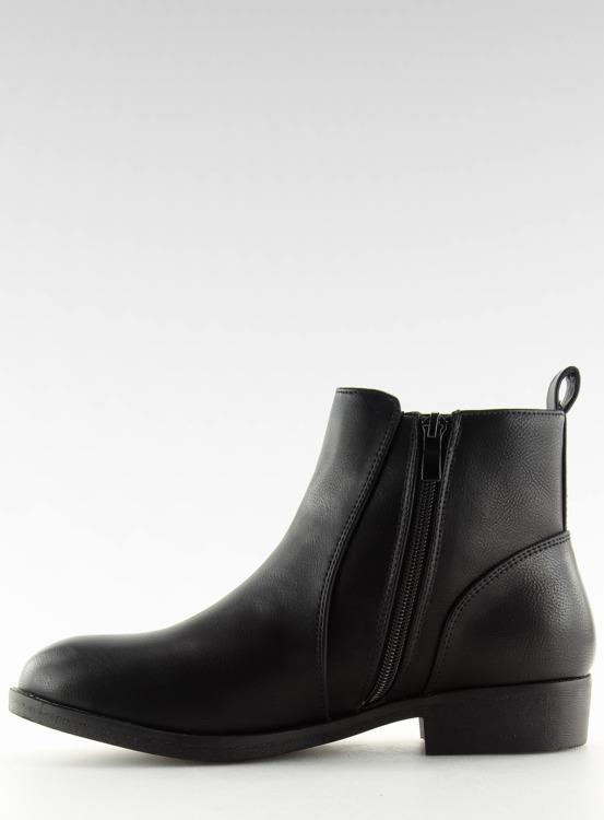 Sztyblety damskie czarne 3776 BLACK