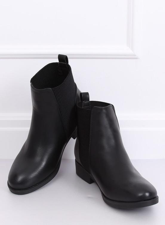 Sztyblety damskie czarne 3778 BLACK