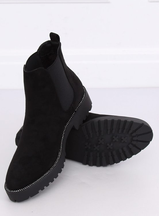 Sztyblety damskie czarne 7683-PA BLACK
