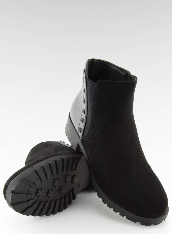 Sztyblety damskie czarne HY-19 BLACK