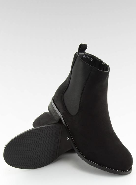 Sztyblety damskie czarne NS025P BLACK