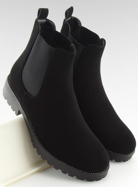 Sztyblety damskie czarne SP16 BLACK