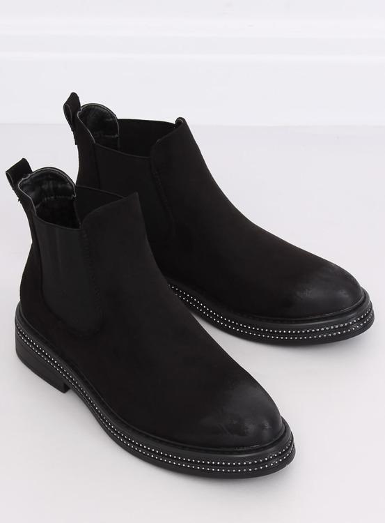 Sztyblety damskie czarne WY-2842 BLACK