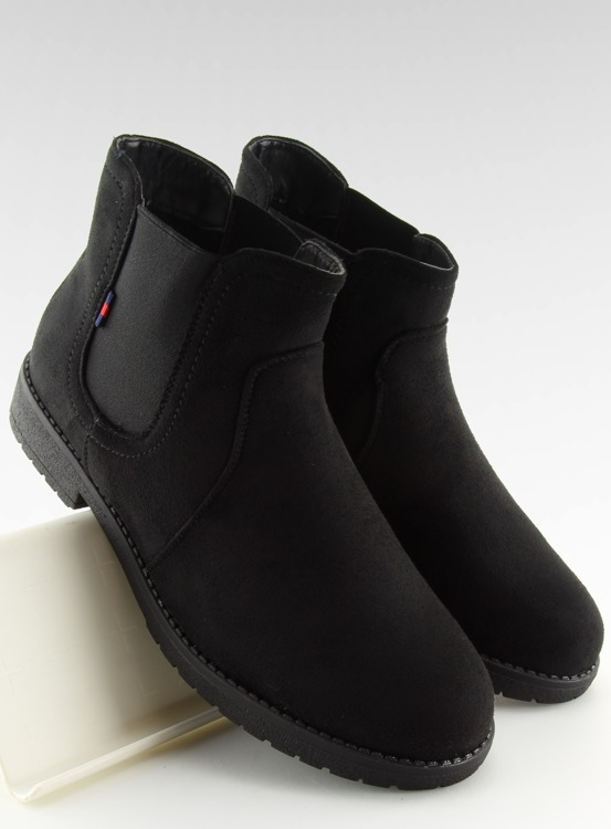 Sztyblety damskie czarne Y206 BLACK