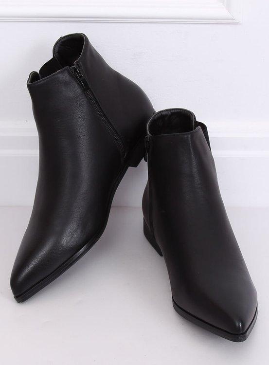 Sztyblety z migdałowymi noskami czarne TX-1838 BLACK