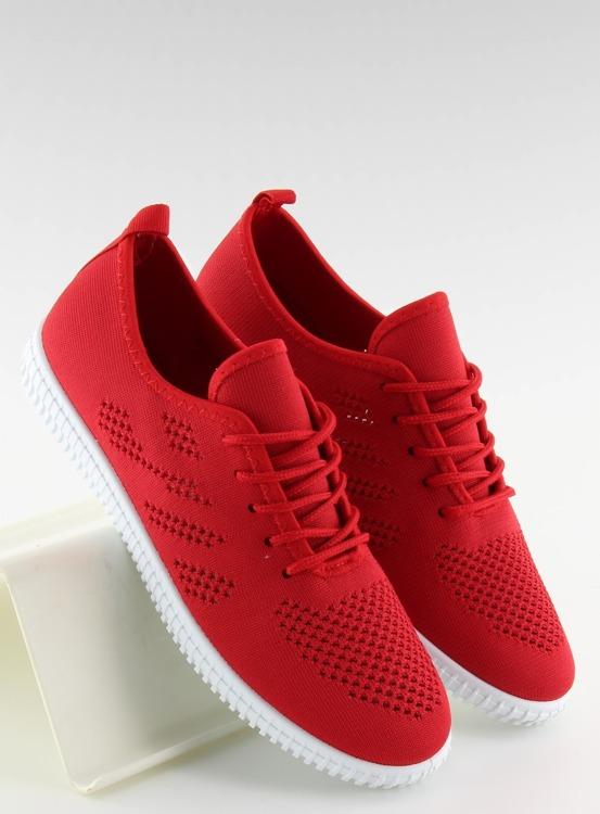 Tenisówki damskie czerwone LA10P RED