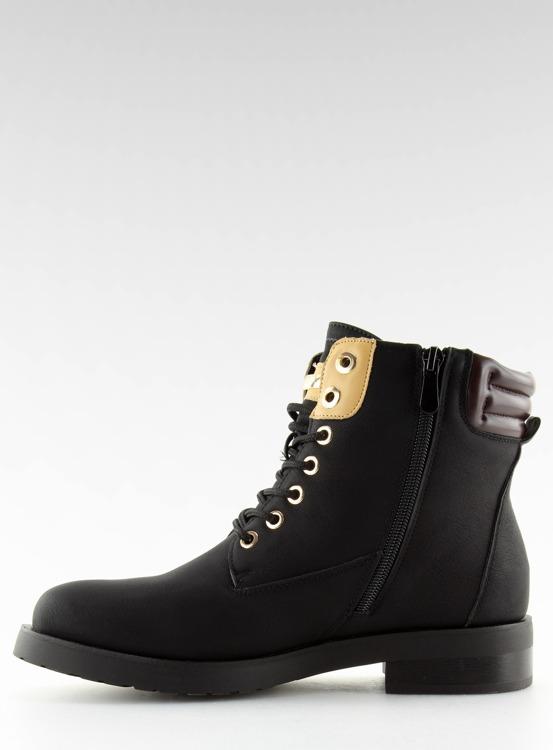 Timberki damskie czarne ZH788 BLACK