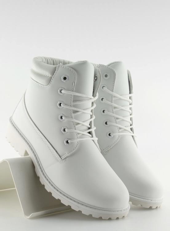 Timberki mono-colour białe BL83 White