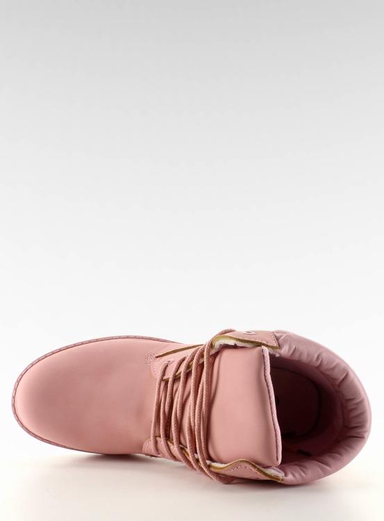 Timberki mono-colour różowe BL83 Pink