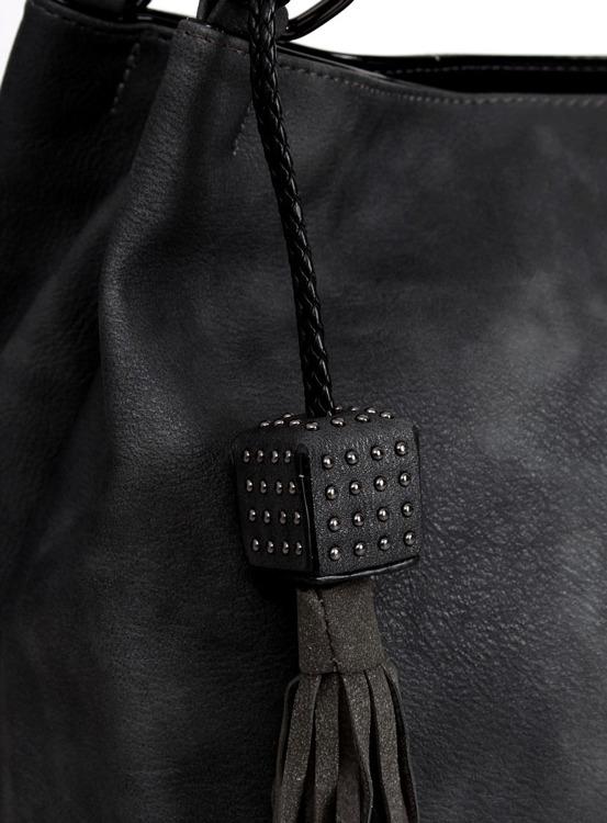 Torebka damska czarna TB-0-44 Czarny