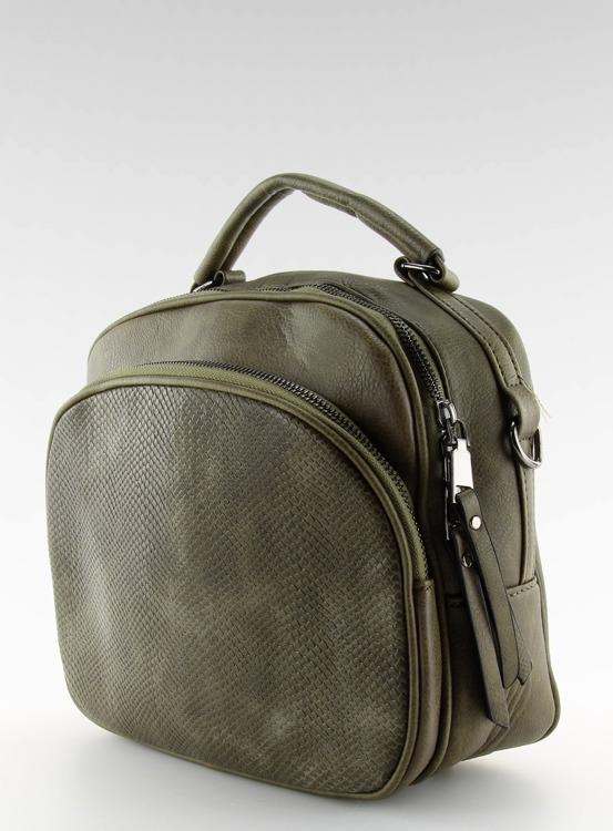 Torebka damska kuferek zielona TB-P-80 Zielony