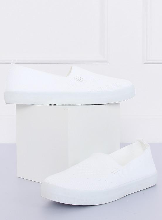 Trampki ażurowe białe JX63P WHITE