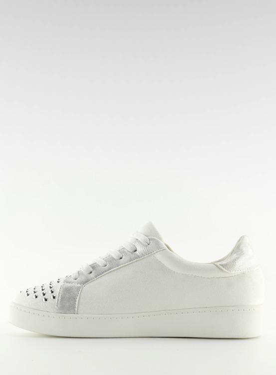 Trampki damskie białe G253 WHITE