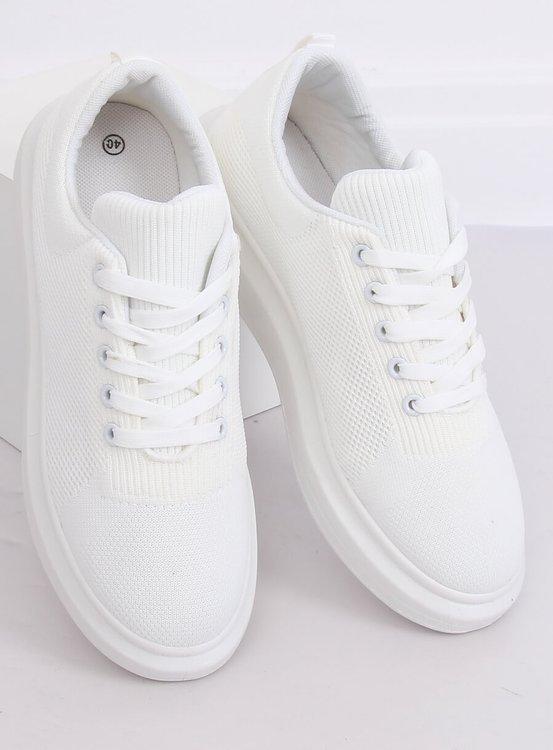 Trampki damskie białe LV82P WHITE