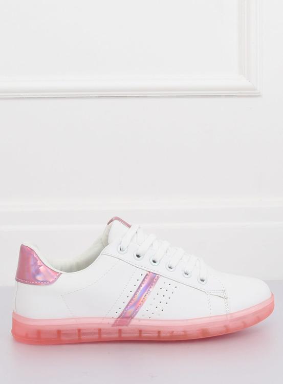 Trampki damskie biało-różowe 2B9XX923 WHITE/ROSERED