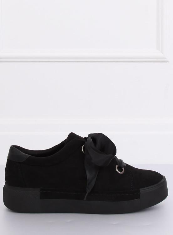 Trampki damskie czarne 1018 BLACK