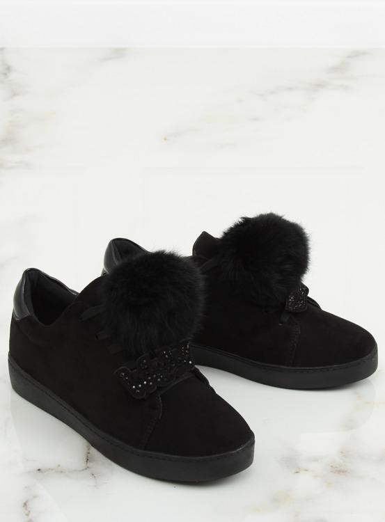 Trampki damskie czarne 68-95 BLACK