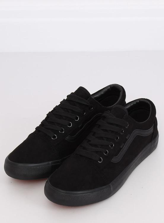 Trampki damskie czarne B70A BLACK/BLACK