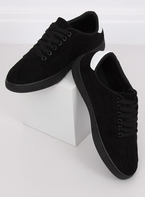 Trampki damskie czarne LX-9857 BLACK