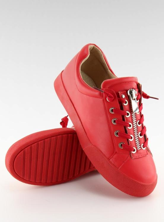 Trampki damskie czerwone 7209 RED