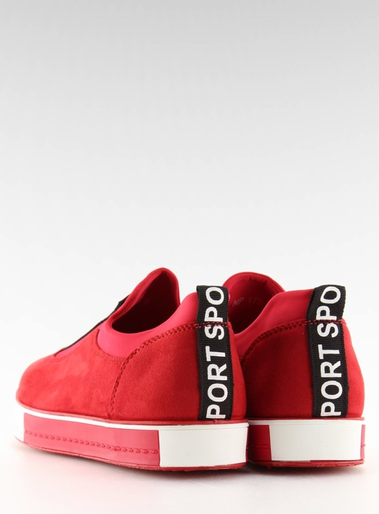 Trampki damskie czerwone NB178 RED