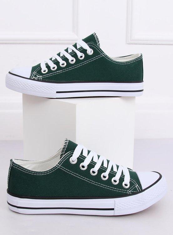 Trampki damskie klasyczne zielone 7050Y GREEN