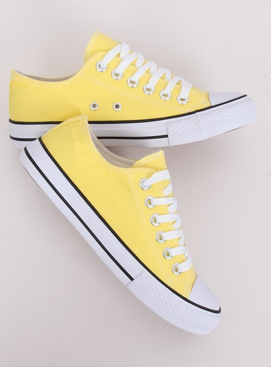 Trampki damskie klasyczne żółte 7050Y YELLOW