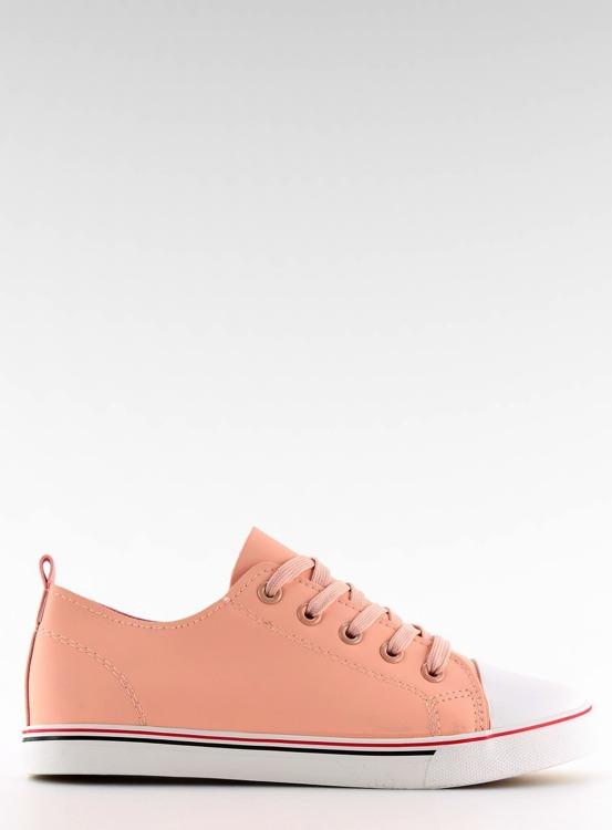 Trampki damskie licowe różowe  XL01p PINK
