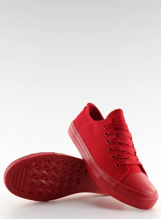 Trampki damskie monocolour czerwone NB176 BIG RED