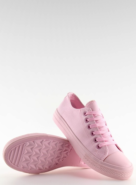 Trampki damskie monocolour różowe NB176 PINK