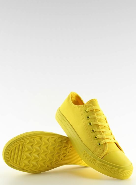 Trampki damskie monocolour żółte NB176 YELLOW