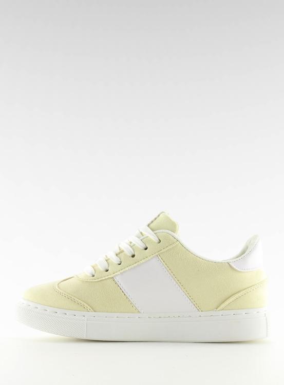Trampki damskie pastelowe żółte C928-36 YELLOW
