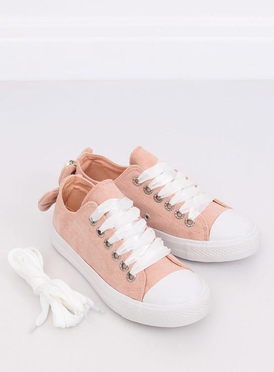 Trampki damskie różowe B88 D.PINK