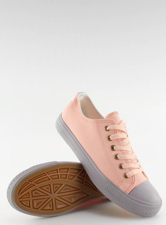 Trampki damskie różowo-szare BL97P PINK/GREY
